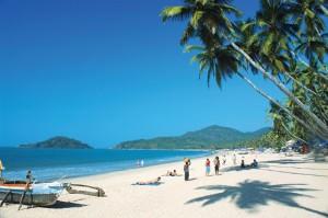 plage de Goa Inde