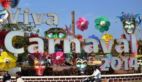 Préparez-vous pour le Carnaval de Goa du 14 au 17 Février