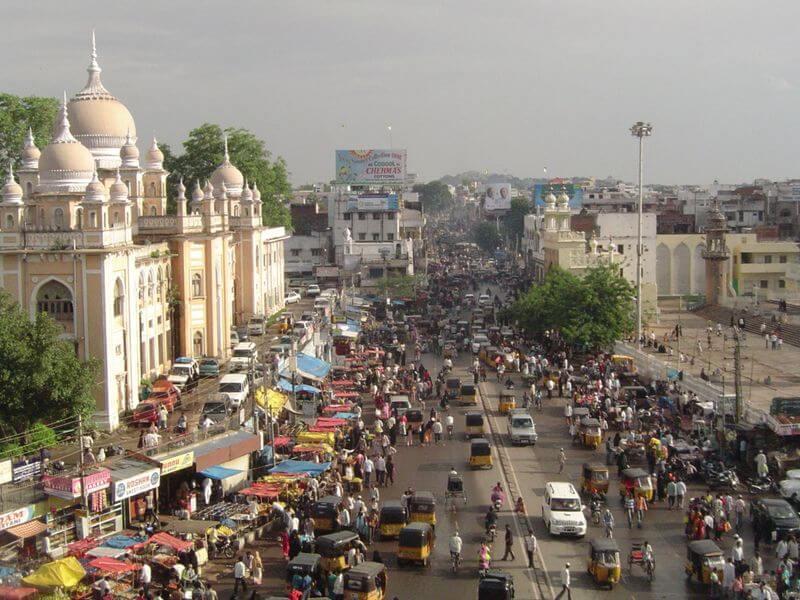 Hyderabad, la capitale de Telangana dans le sud de l'Inde